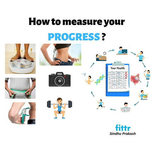 HOW TO MEASURE YOUR PROGRESS ?